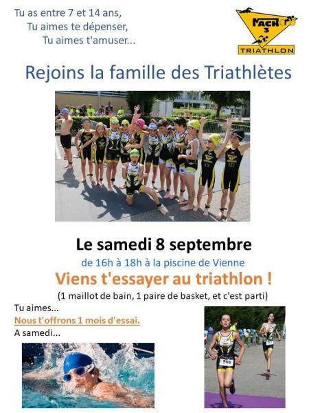 triathlon 8 septembre 2018